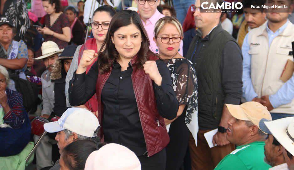 Después de un año de gobierno, Claudia dice que habrá mano dura vs ambulantes
