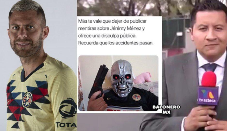 Reportero de TV Azteca es amenazado con pistolas, tras reportaje de Jérémy Ménez
