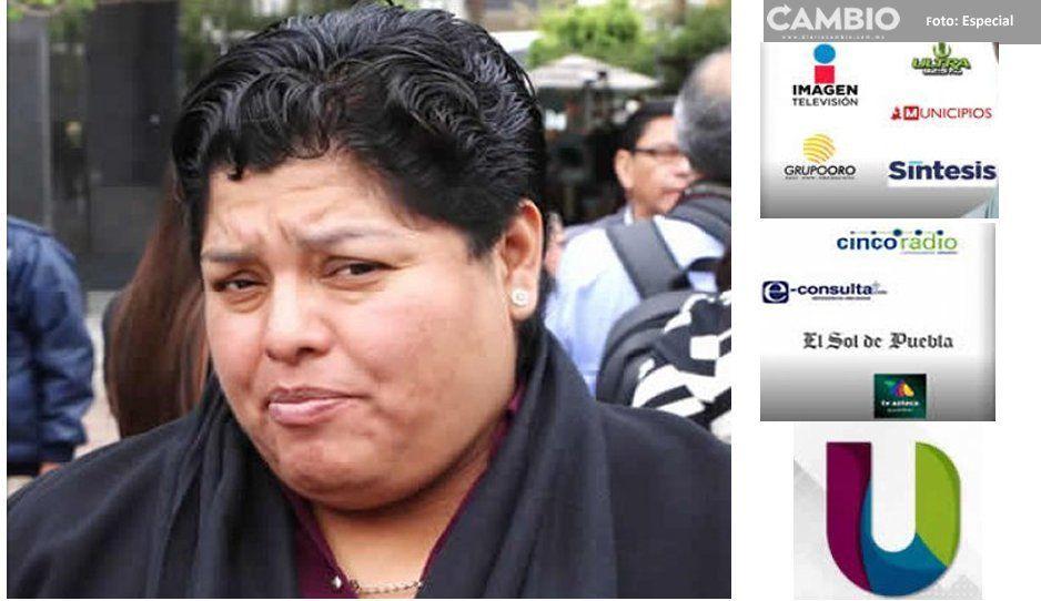 Karina Pérez se niega a transparentar 7.8 millones que derrochó en medios en solo un mes