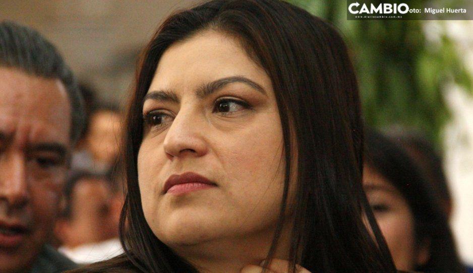 Claudia niega que tenga alguna demanda de pago de los poblanos que bachearon calles