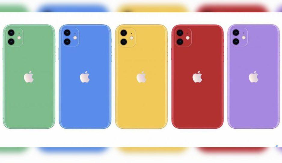 Habrá un iPhone 11 gama media y será de colores