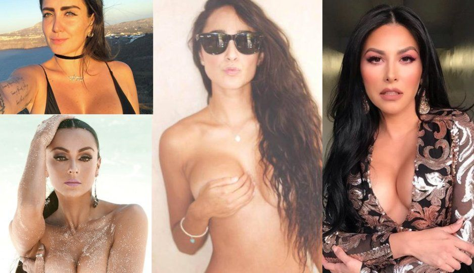 FOTOS: Ivonne Montero, Celia Lora, Manelyk y Gaby Ramírez… todas en el 40 grados en un junio mágico