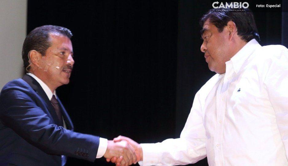 Arriaga Lila se luce durante primer informe:  Barbosa promete un hospital para San Pedro
