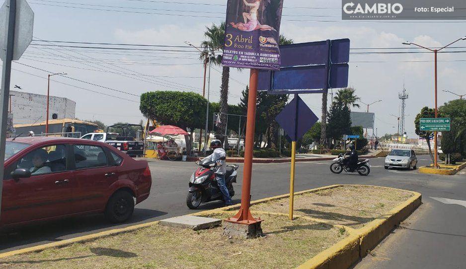 Policías municipales rescatan a supuesto ladrón de ser linchado en junta auxiliar de Texmelucan