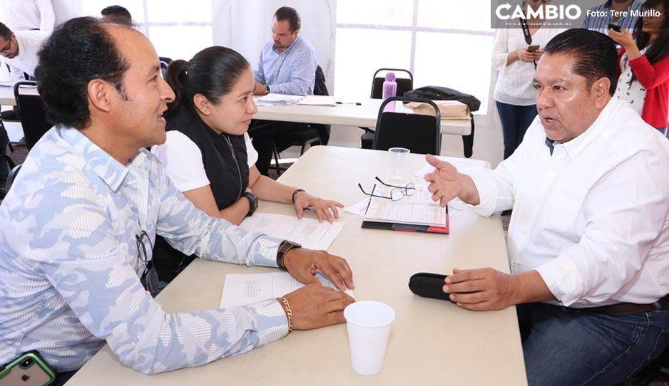 Dialoga Guillermo Aréchiga con transportistas sobre tema de concesiones y ampliación de rutas