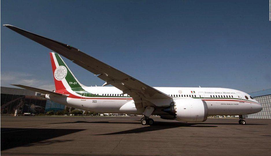 Renta del avión presidencial costará más 249 mil pesos por hora