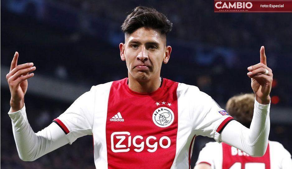 Edson Álvarez decepcionó mucho, asegura prensa holandesa