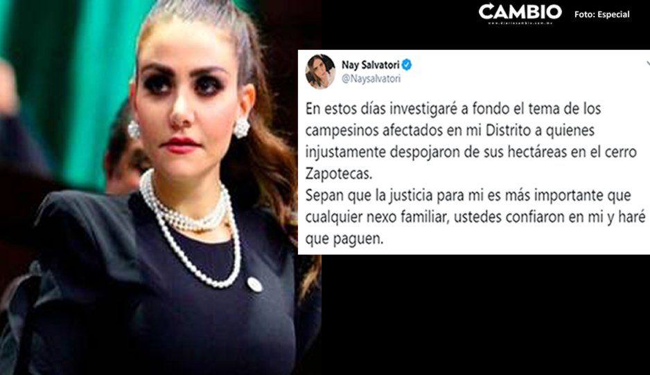 Del amor al odio: Nay Salvatori investigará el despojo cometido por su ex marido Montero en el Zapotecas