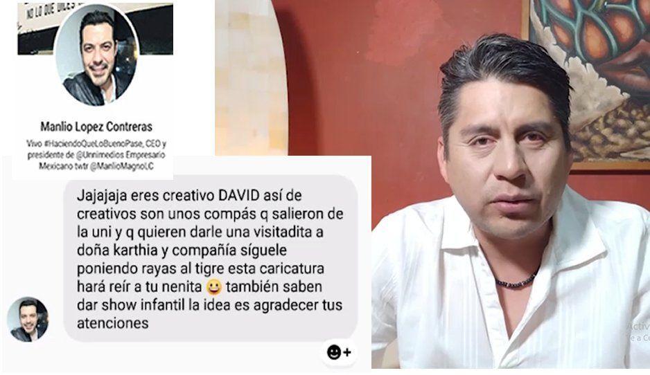 Director de Unimedios Puebla amenaza a trabajador y le roba equipo (VIDEO)