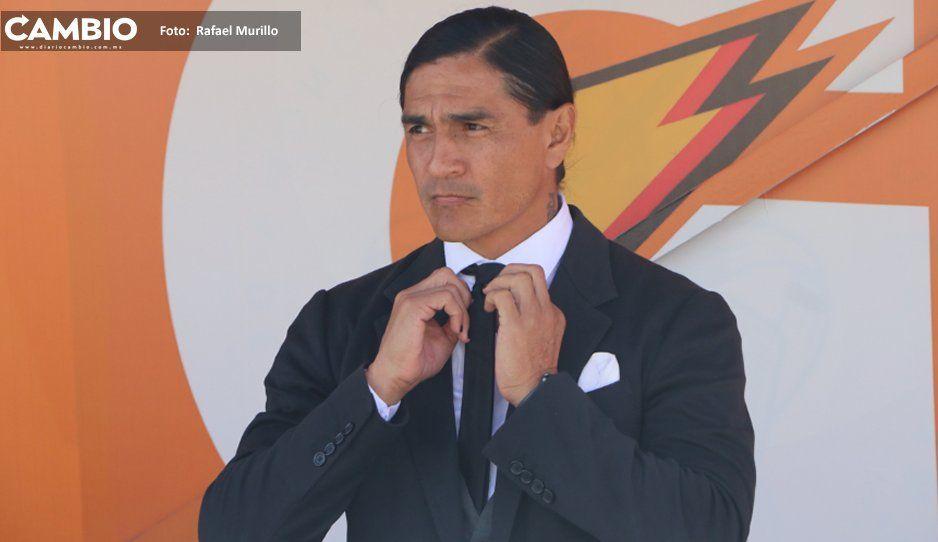 Lobos BUAP sufre a balón  parado, admite Paco Palencia