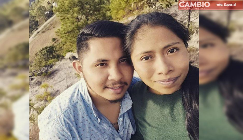 Cansado del anonimato, novio de Yalitza revela fotos
