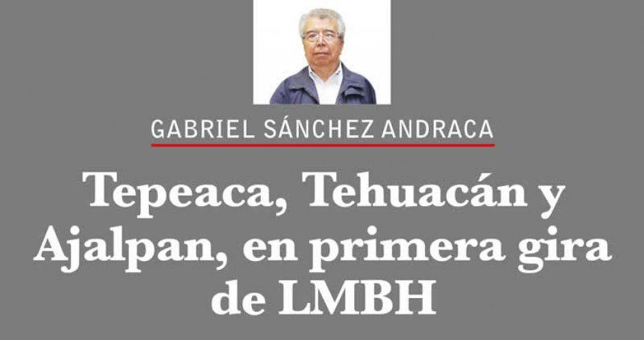 Tepeaca, Tehuacán y Ajalpan, en primera gira de LMBH