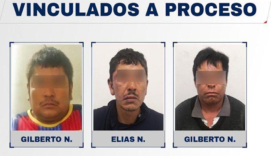Vinculan a proceso a tres narcomenudistas que intentaron huir a balazos en Ajalpan