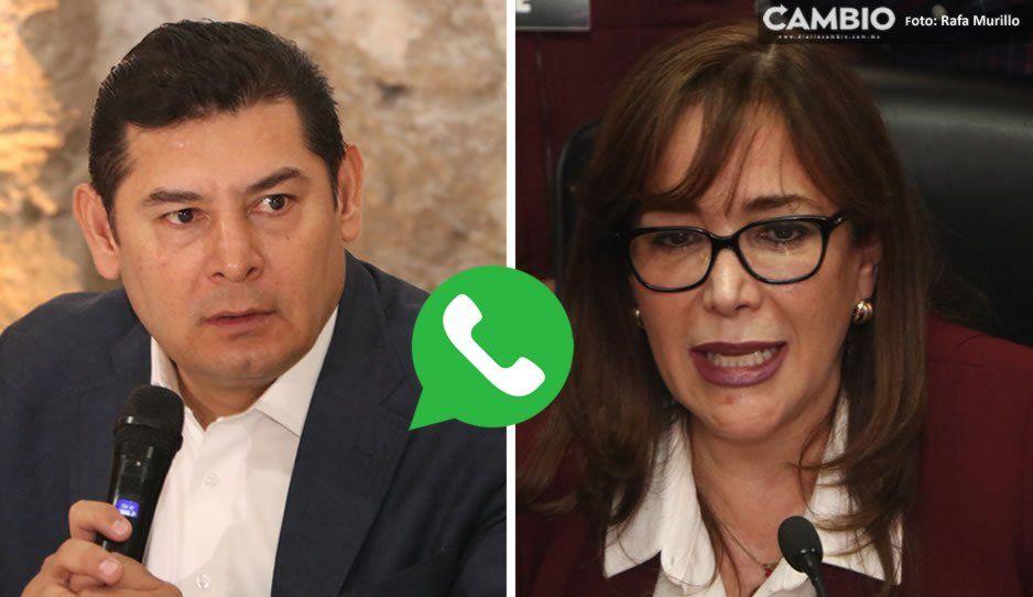 No le contesto los WhatsApp a Armenta porque está dañando a Barbosa: Yeidckol