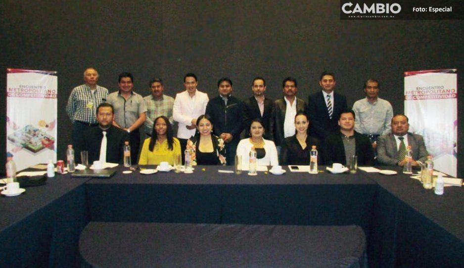 San Martín Texmelucan encabeza el Primer  Encuentro Metropolitano de Competitividad
