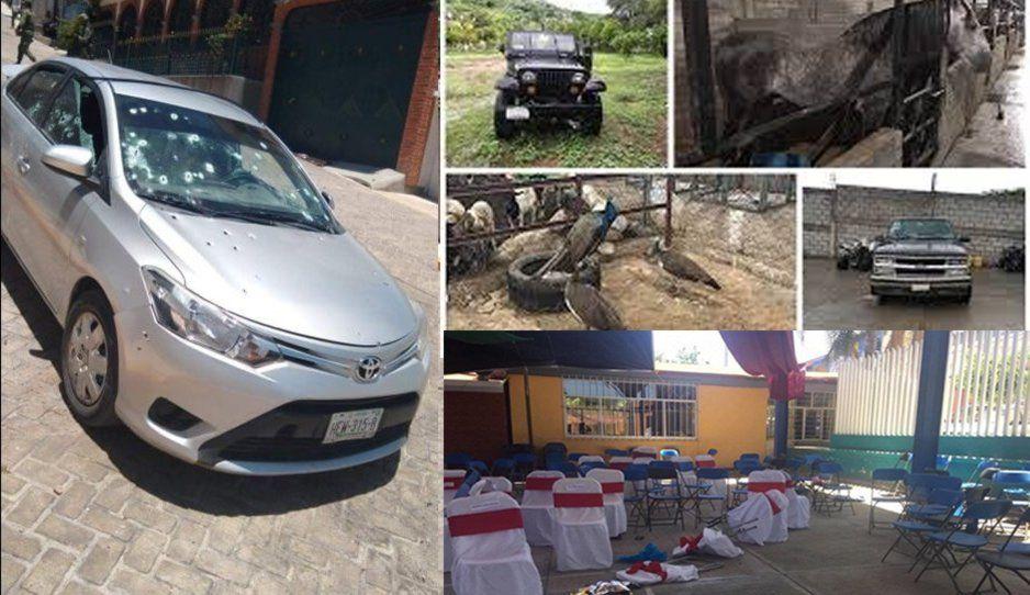 En Guadalupe Santa Ana también Los Rojos mataron a ocho por cobro de piso