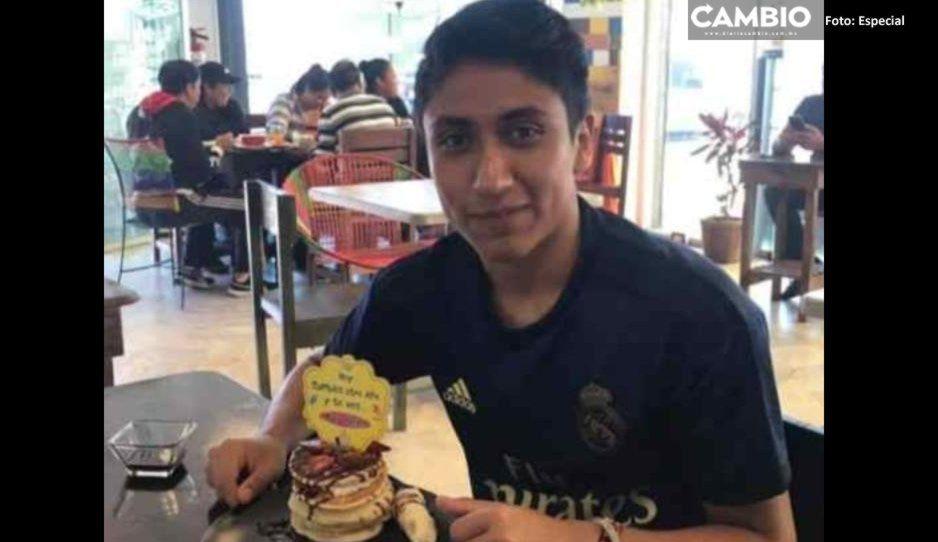 Joven de 18 años desapareció el 11 de agosto cerca del Parque Puebla ¡Ayúdanos a localizarlo!
