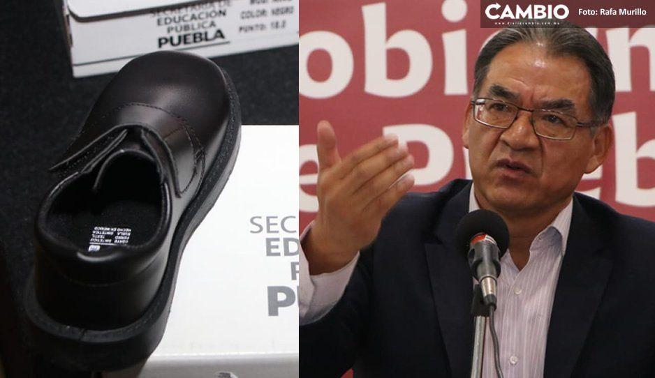 Zapatos gratuitos son de cartón y pueden deformar pies de los niños, por eso denunciamos: Melitón