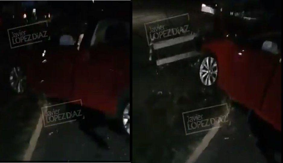 Conductor se estrella contra un poste y deja sin luz zona de la México-Puebla