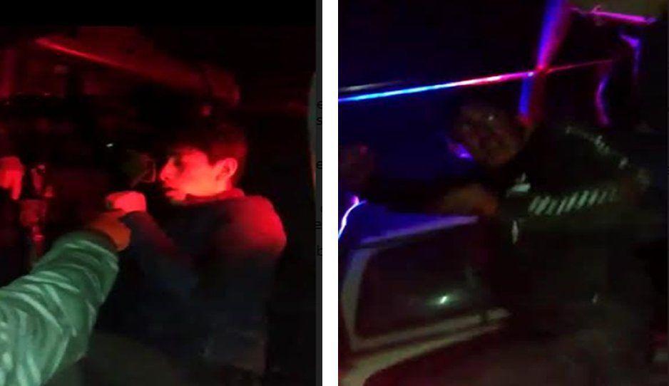 ¡De la que se salvaron! Policías impiden linchamiento de asaltantes en El Verde