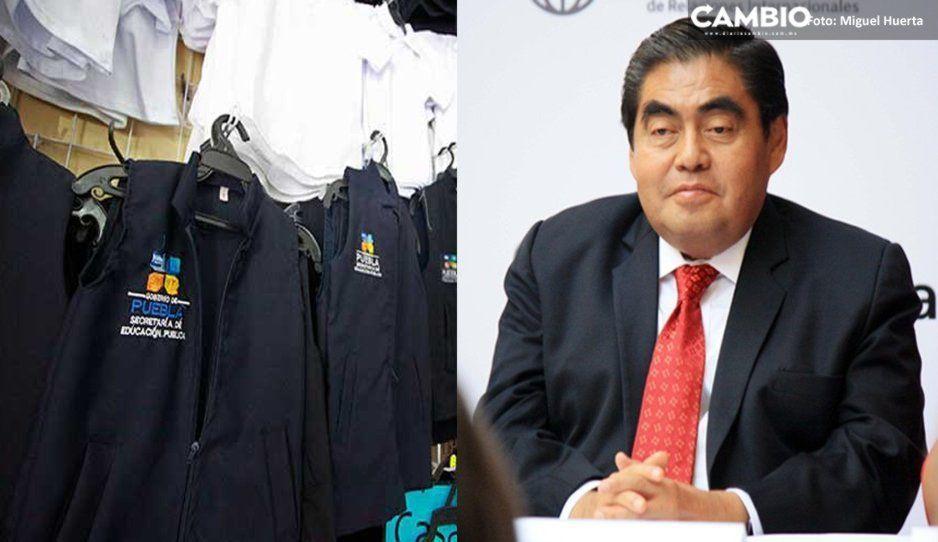 Barbosa investigará sobrecosto de 30 millones en uniformes escolares