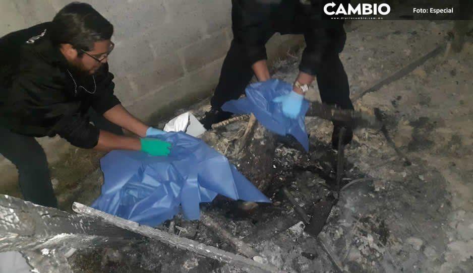 Incendio en campamento de retiro de AA en Tlahuapan calcina a una menor y lesiona a dos