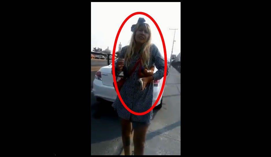 Acepto que no sé manejar, pero me la vas a pagar: #LadyMagistrado amenaza a policía (VIDEO)