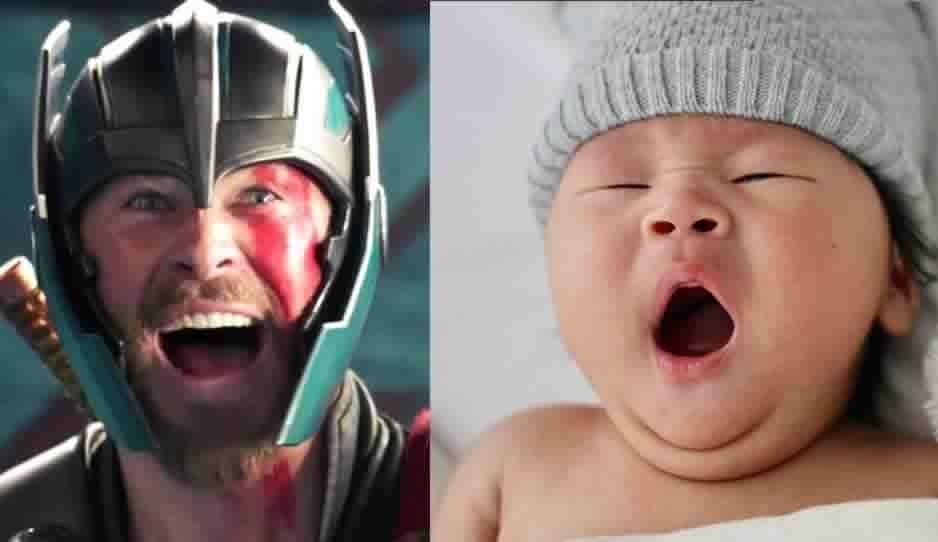 Baja California ya tiene a su Thor: Padres se dejan llevar por la Avengermanía y nombran a su hijo como el Dios del Trueno