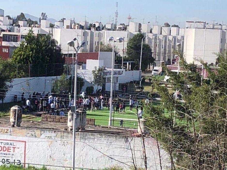 Muere de un infarto en el Deportivo Loma Bella mientras veía partido de fútbol