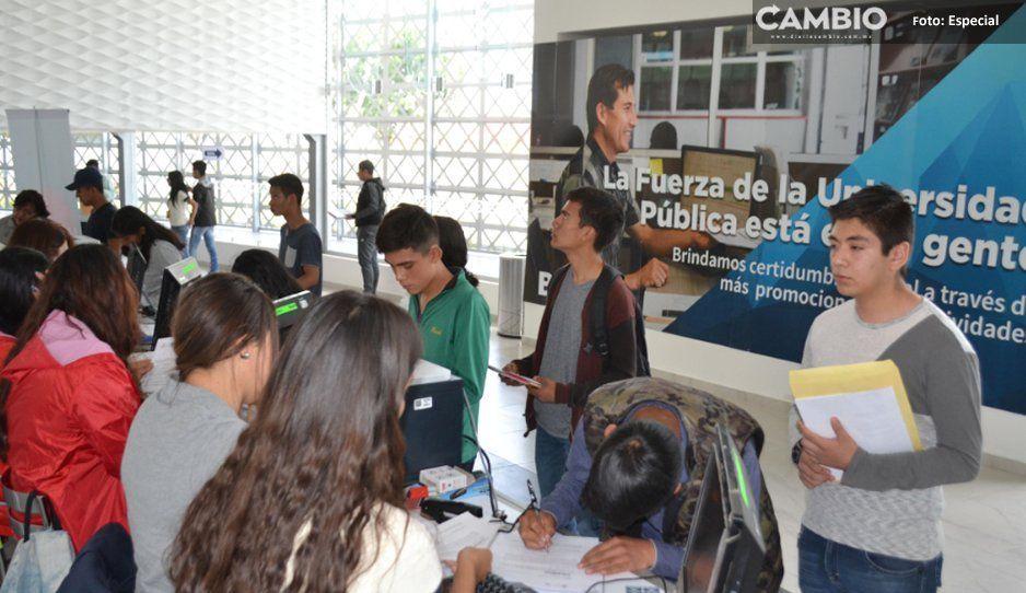 La BUAP ofrece casi mil 900 nuevas oportunidades de ingreso