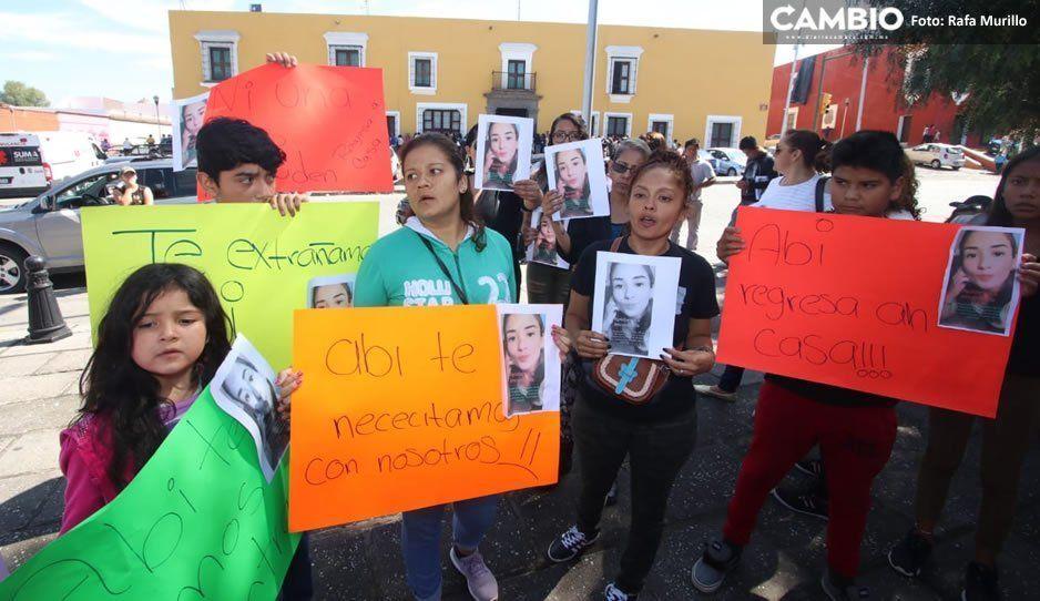 Familiares de Judith Abigail piden al gobierno detener a su amigo Eduardo, último en verla antes de su desaparición