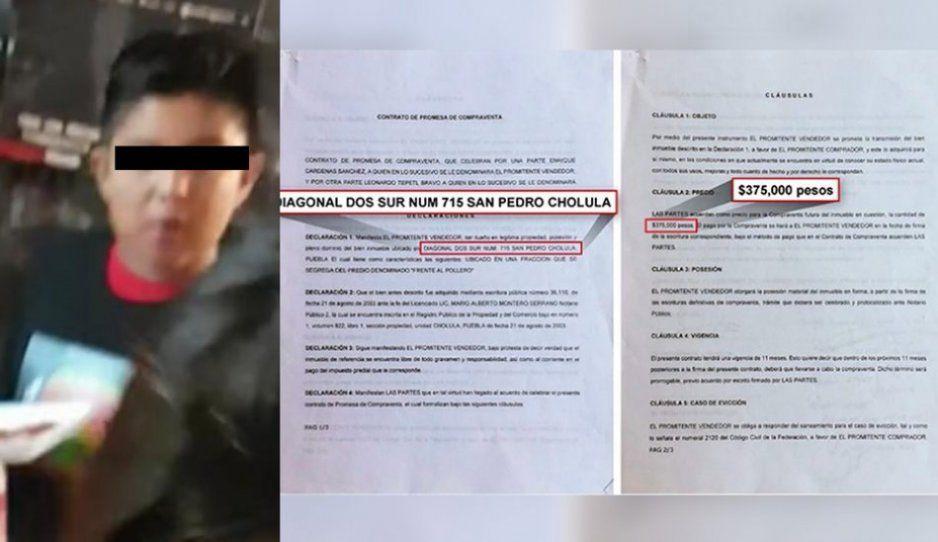 Empresario sanandreseño asegura que predio comprado a Cárdenas está en proceso de escrituración