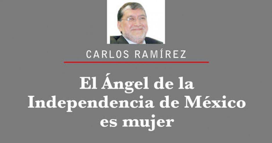 El Ángel de la Independencia de México es mujer