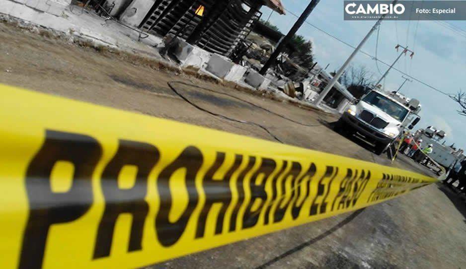 Matan a hombre a pedradas en la ex hacienda de San Agustín en Atlixco; su rostro terminó desfigurado