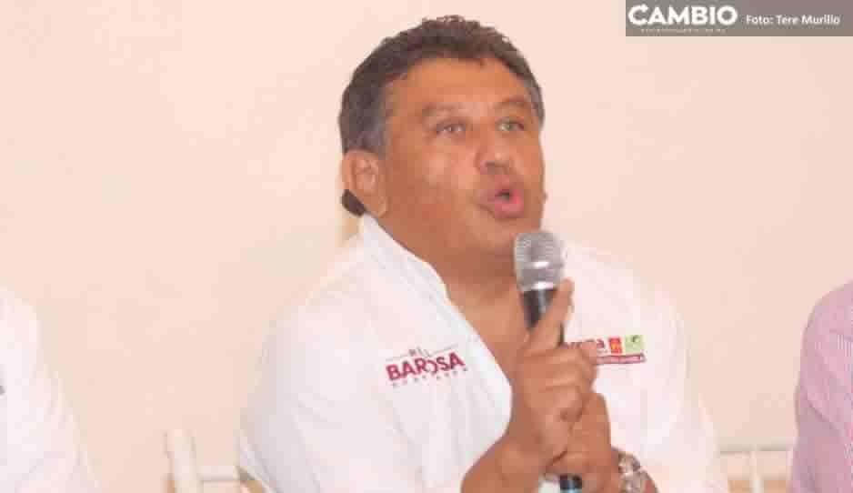 Vocero de Barbosa reta a Cárdenas a que exhiba documento de auditoría SAT al CEEY