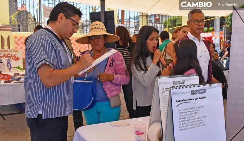 Gobierno de Texmelucan realiza jornada de salud y servicios en San Rafael Tlanalapan
