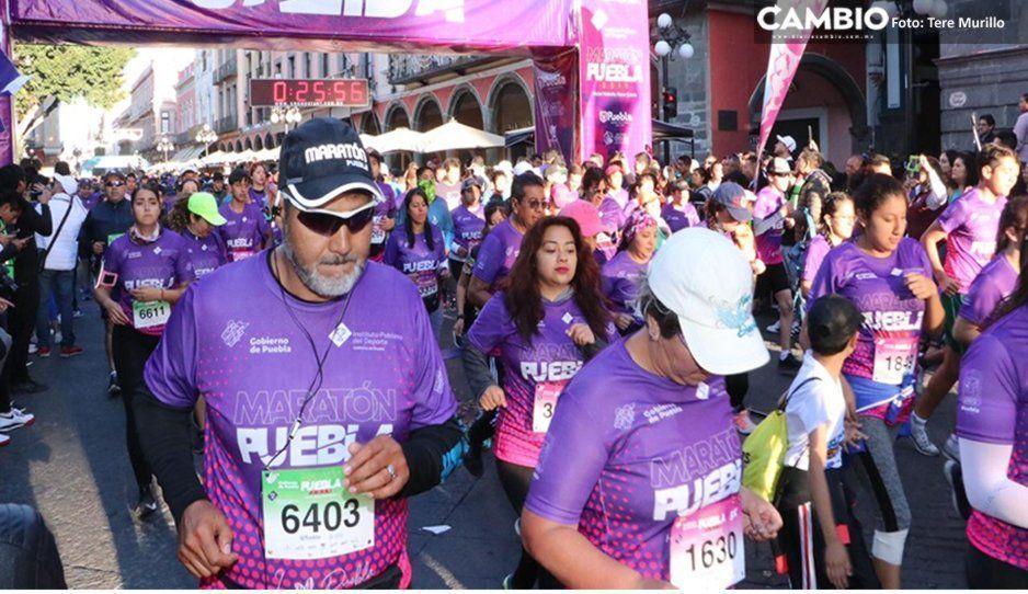 Corredores defraudados de 21 Km tendrán su medalla en el transcurso de la semana, prometen organizadores