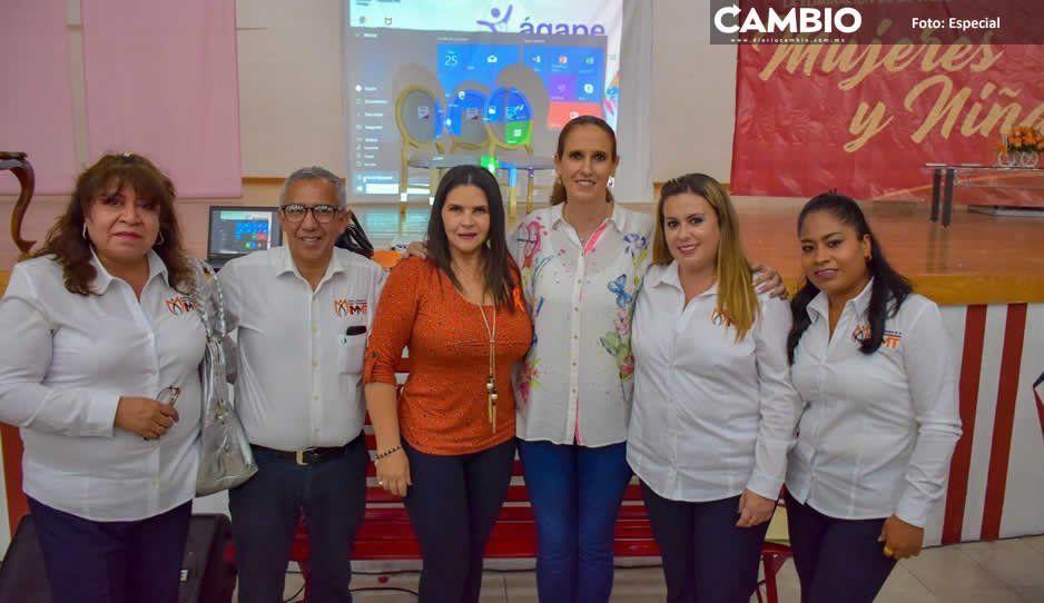 Texmelucan conmemora el Día Naranja con la obra de Amalia Osorio Mujeres de Papel