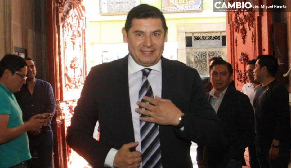 Moranchel llegó llorando acusando persecución política en su contra: Armenta (VIDEO)