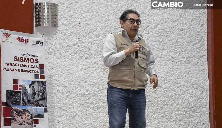 Ayuntamiento de Cuautlancingo organiza  conferencia de prevención ante terremotos