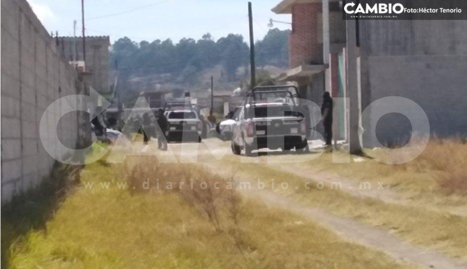 Enfrentamiento entre ratas y policías deja tres detenidos y una bodega asegurada en Texmelucan