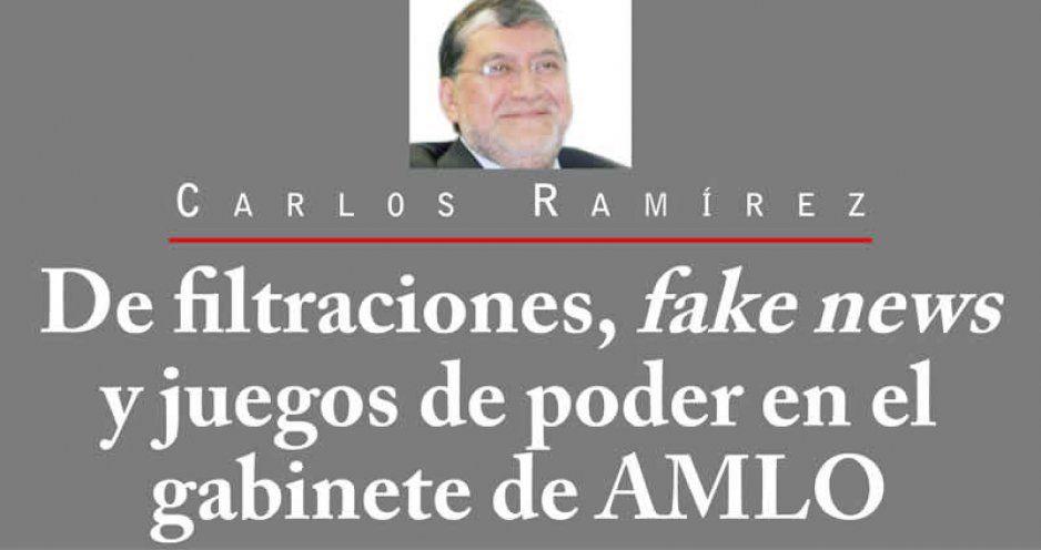 De filtraciones, fake news y juegos de poder en el gabinete de AMLO