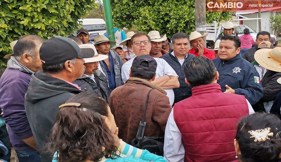 Bloquean acceso a Cola de Lagarto para que no afecte el puente La Viga