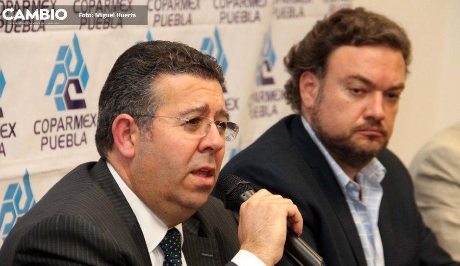 Coparmex condena al gobierno de Claudia  por haber sido rebasado por ambulantaje