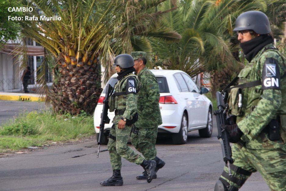Recuperar armas robadas en Tlaxcala a Guardia Nacional en Nopalucan, Puebla