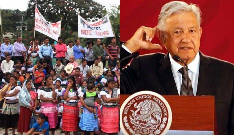 Comunidades indígenas votaron para que AMLO no imponga el Tren Maya