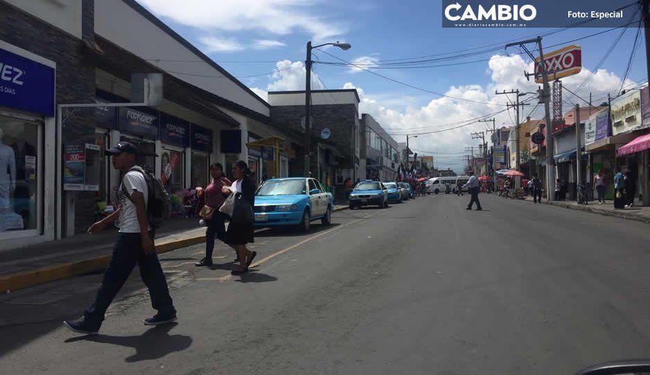 Seguridad Pública de Atlixco implementa programa Taxi Seguro a favor del gremio