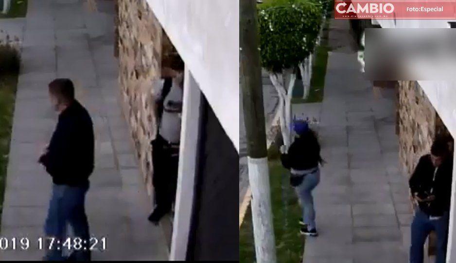 Así roban casa en El Mirador ¡ratas malnacidas! (VIDEO)