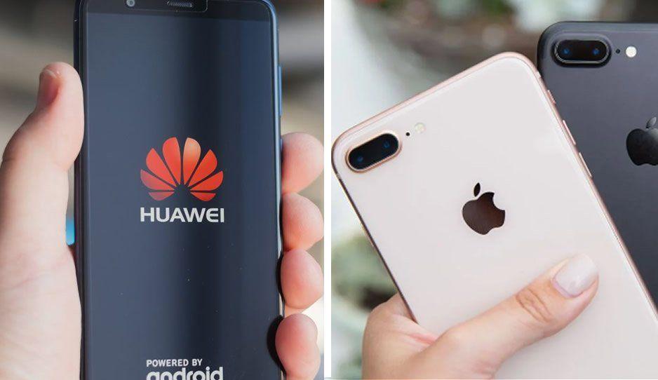 No es Samsung el rival de Apple, Huawei es el que vende más celulares