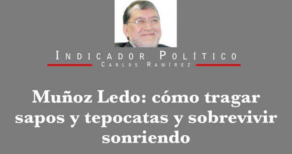 Muñoz Ledo: cómo tragar sapos y tepocatas y sobrevivir sonriendo